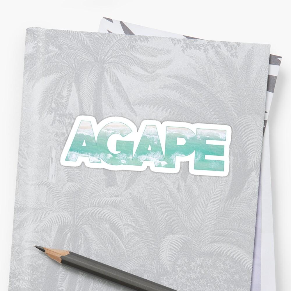 AGAPE ocean by move-mtns