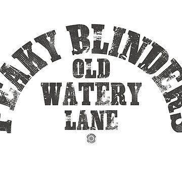 Peaky Blinders - Watery Lane by eyevoodoo