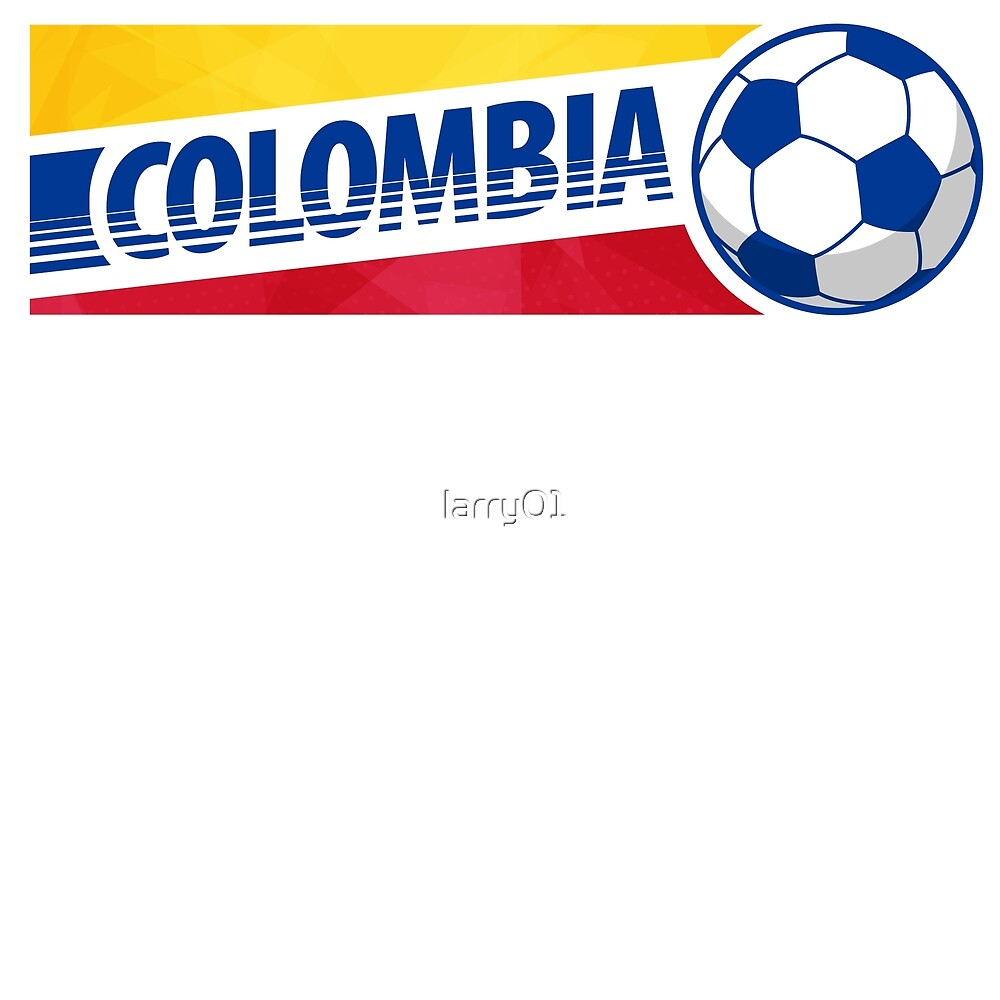 Soccer Colombia. Gift idea. by larry01
