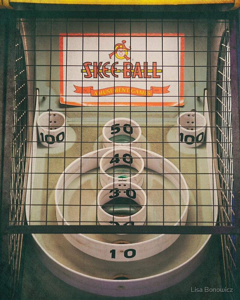 Skee Ball Game by Lisa Bonowicz