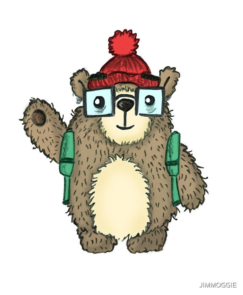 Cute Bear by JIMMOGGIE