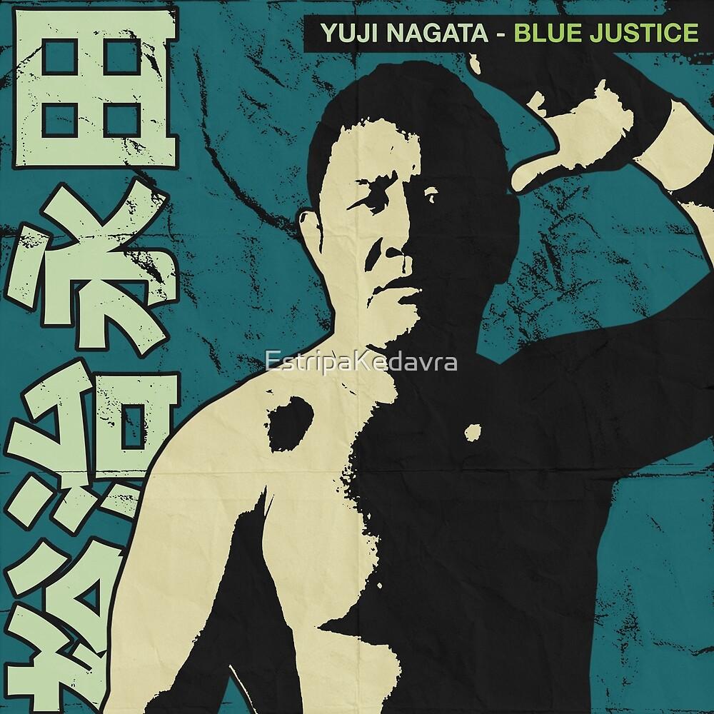 Yuji Nagata - Blue Justice by EstripaKedavra