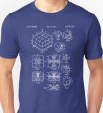 Rubik's Cube Patent: Awesome Patents Unisex T-Shirt