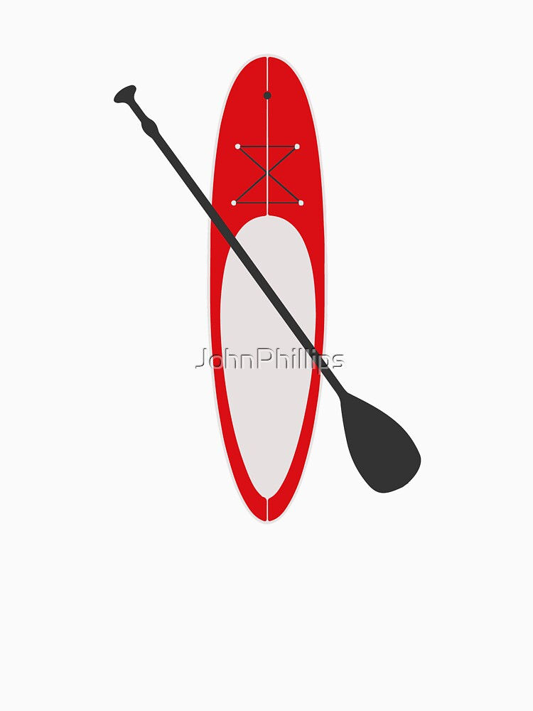 Stand Up Paddling Surf T-shirt for Surfers Surf Board T-shirt by JohnPhillips