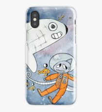 Shark In Space iPhone Case
