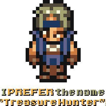 "Final Fantasy VI - Locke ""I PREFER the name 'Treasure Hunter'"" by LvlUpChronicles"