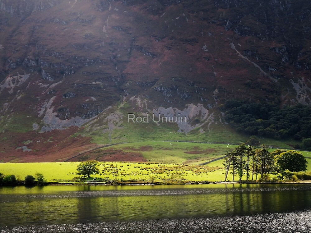 Crummock Water - Lake District by Rod Unwin