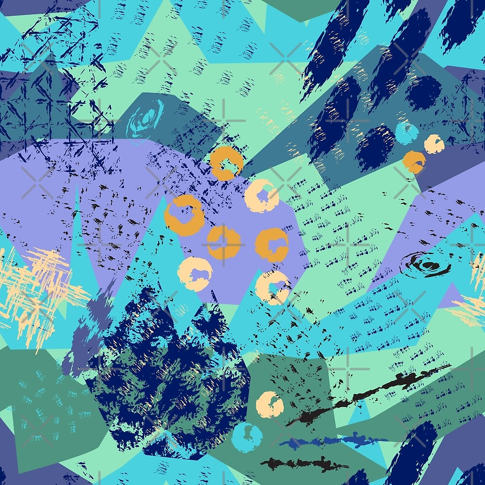 Fashionable abstract  background by RitaKo