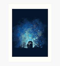 Lámina artística Doctor Who Lovers