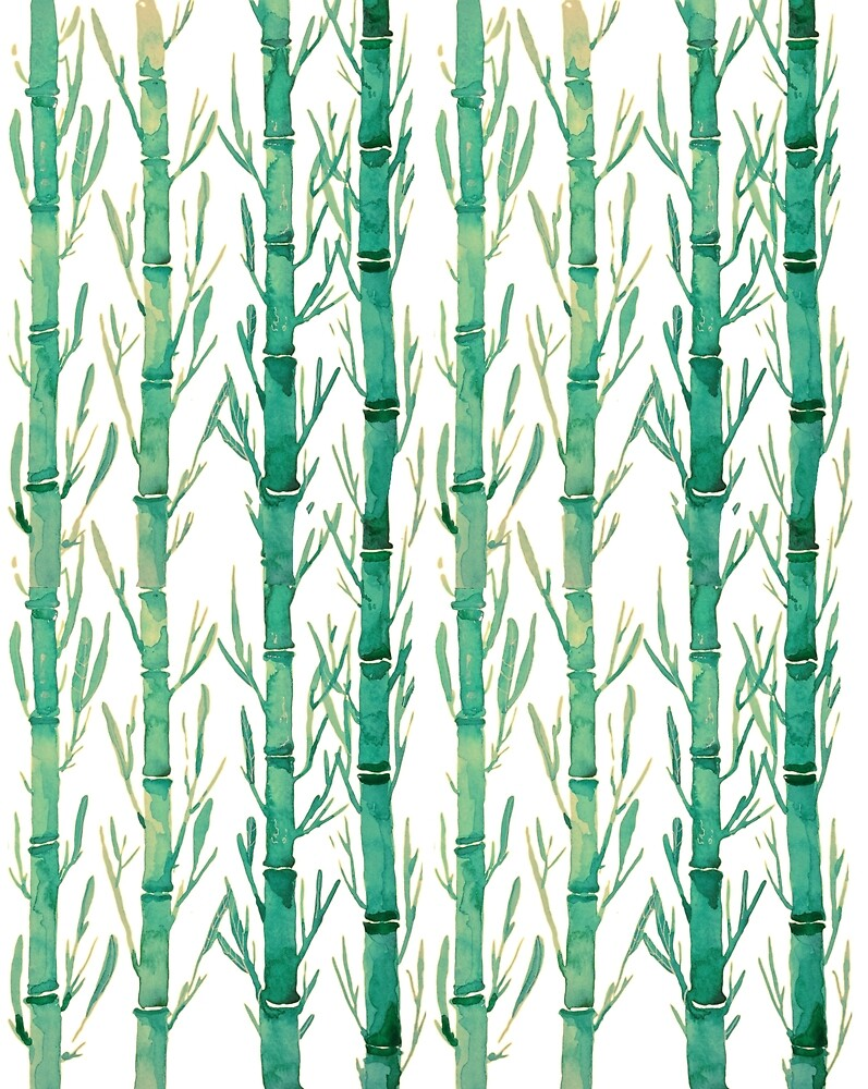 Bamboo Watercolor by franciscomff