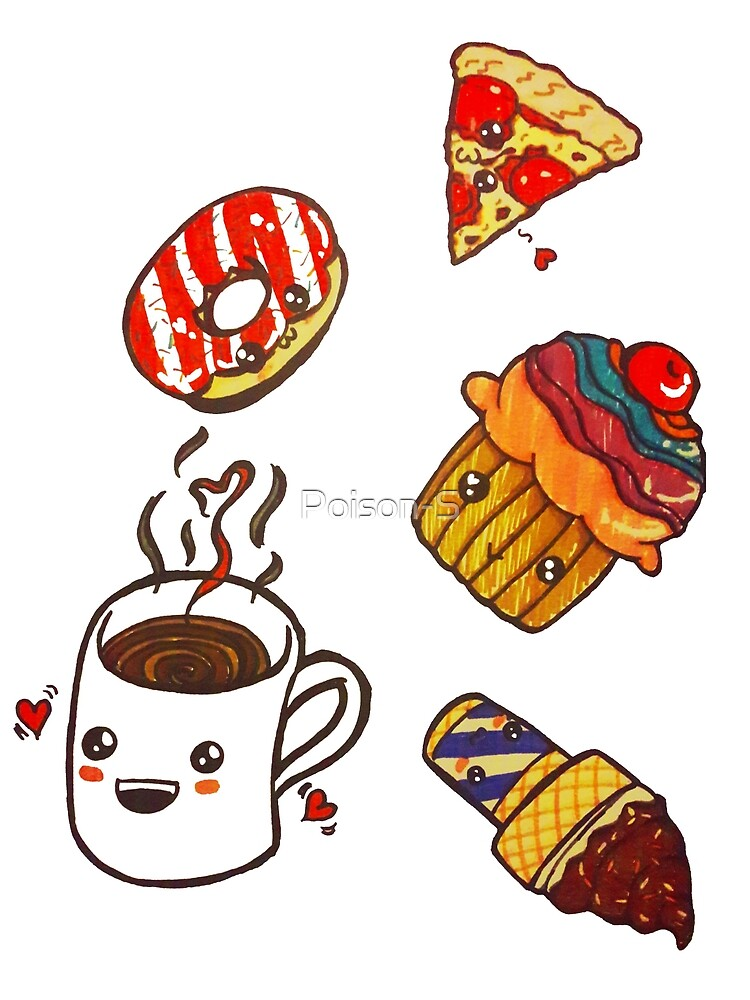 Even Pizza can be Coffee's Friend by Poison-S