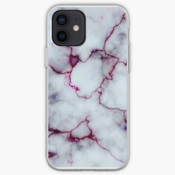Marbre sanglant Coque souple iPhone