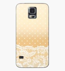 Lace & Dots Case/Skin for Samsung Galaxy