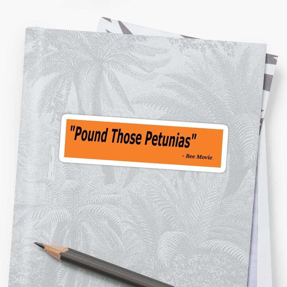 Pound Those Petunias by TheJackmanMoose
