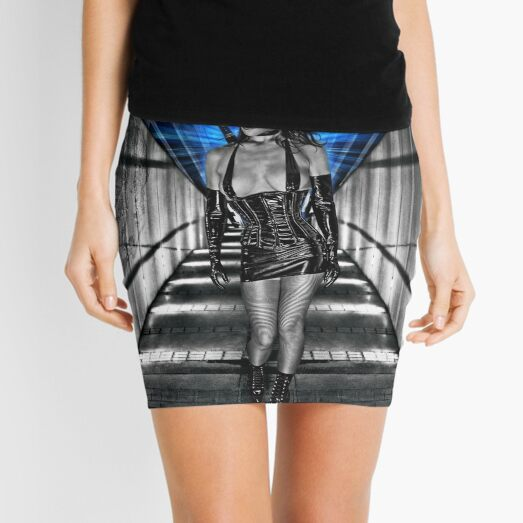 La Femme Kunoichi Mini Skirt