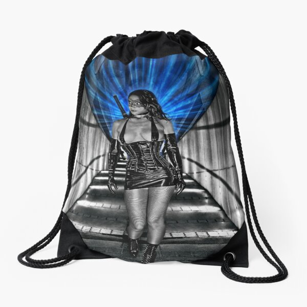 La Femme Kunoichi Drawstring Bag