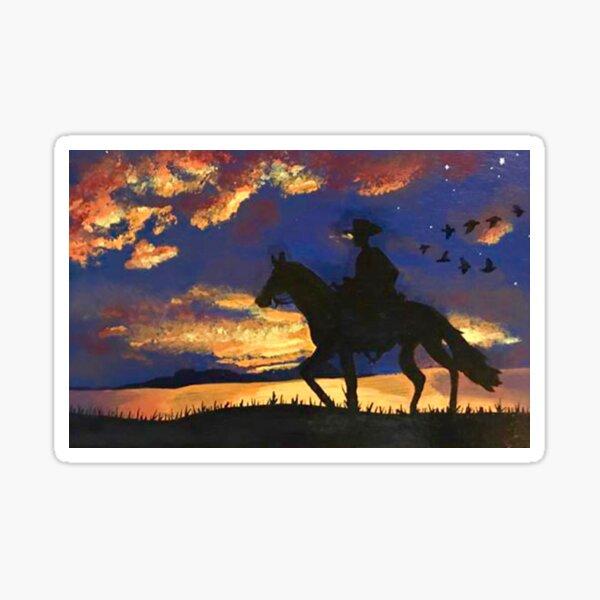 Sunset Vista Sticker