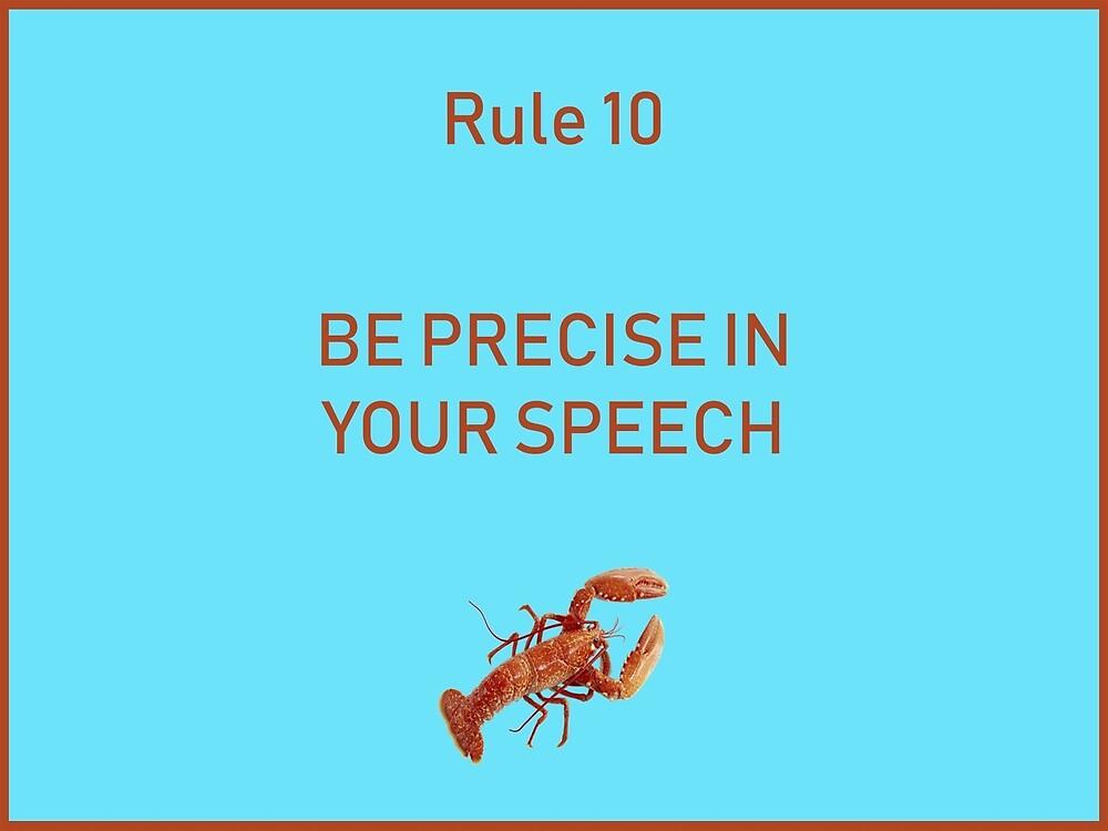 Jordan B Peterson 12 rules for life rule 10 by malikheadley