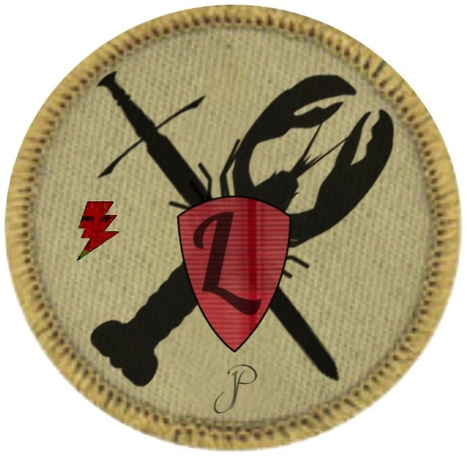 Heroic Lobster Merit Badge by Phillips1987
