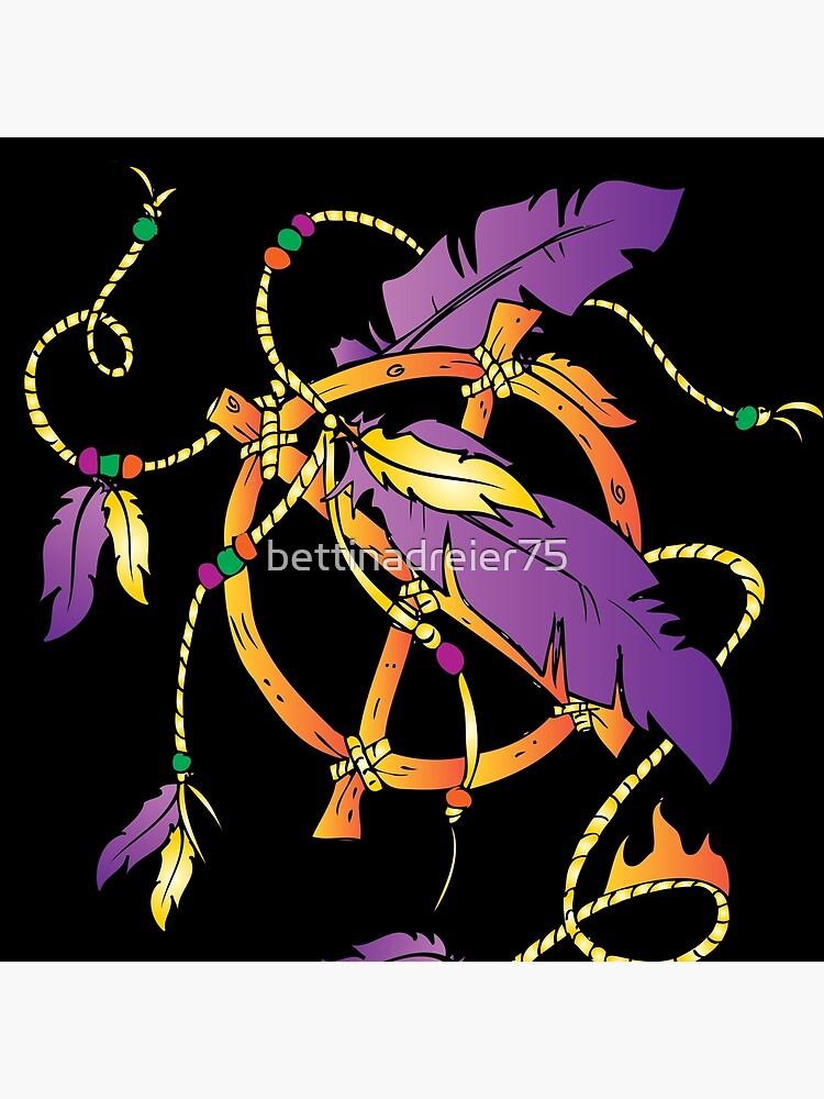 Feather Dream Wheel by bettinadreier75