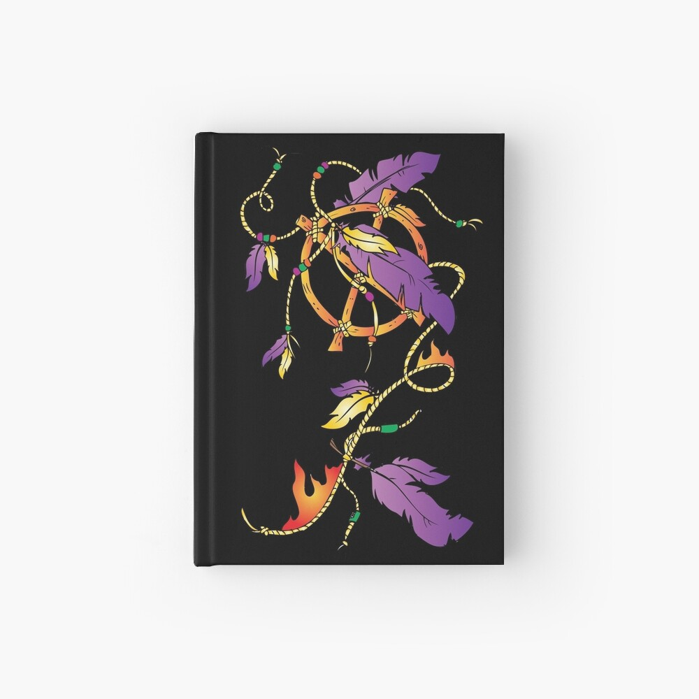 Feather Dream Wheel Hardcover Journal