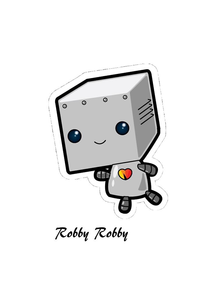 Robby Robby The Kawai Robot by JoshW13