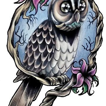 Colorful owl by AnderArtes