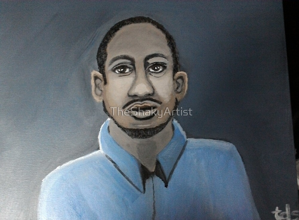 Kalief Browder by TheShakyArtist