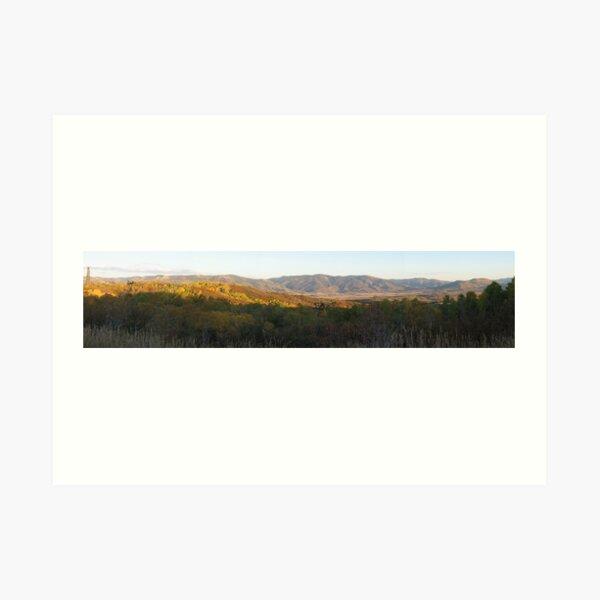 Panoramics: Fall Colors in Colorado Art Print