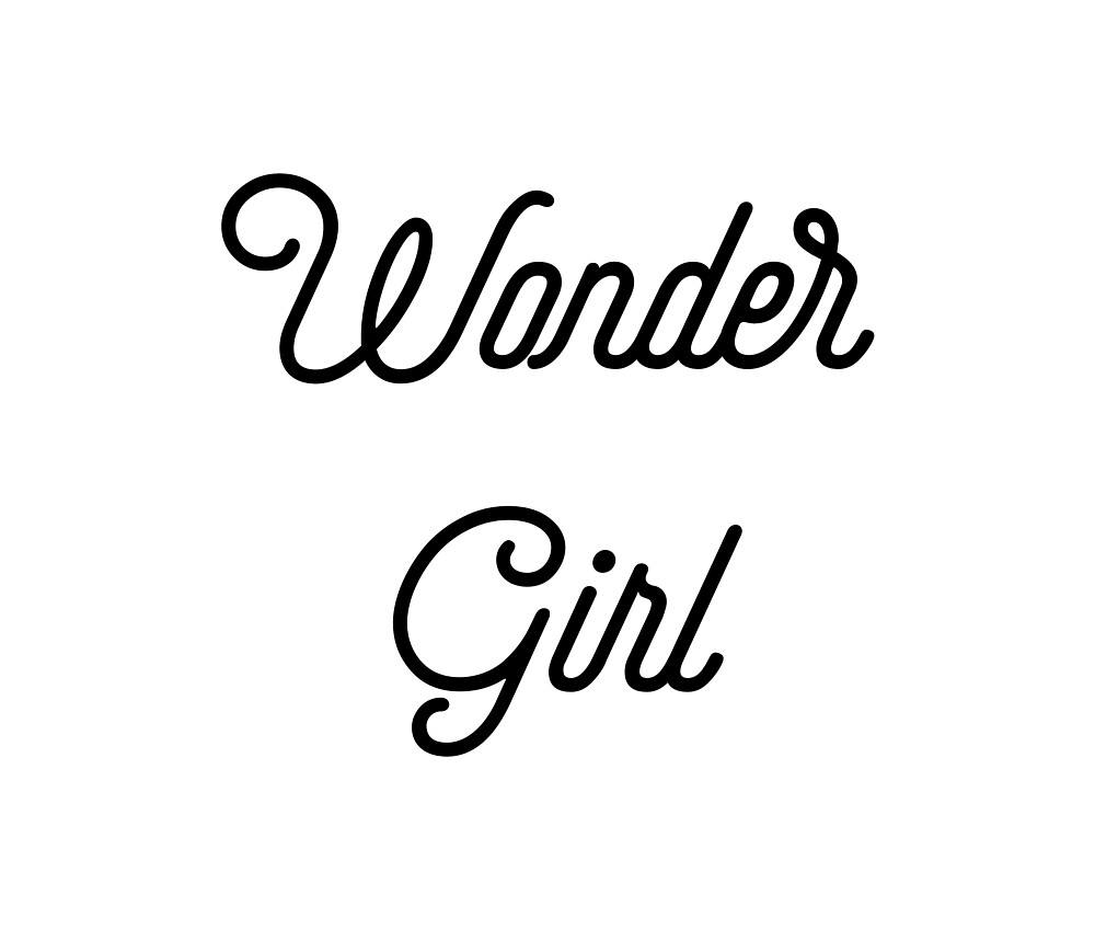Wonder Girl [Top Girly Teenager Quotes] by ElderArt