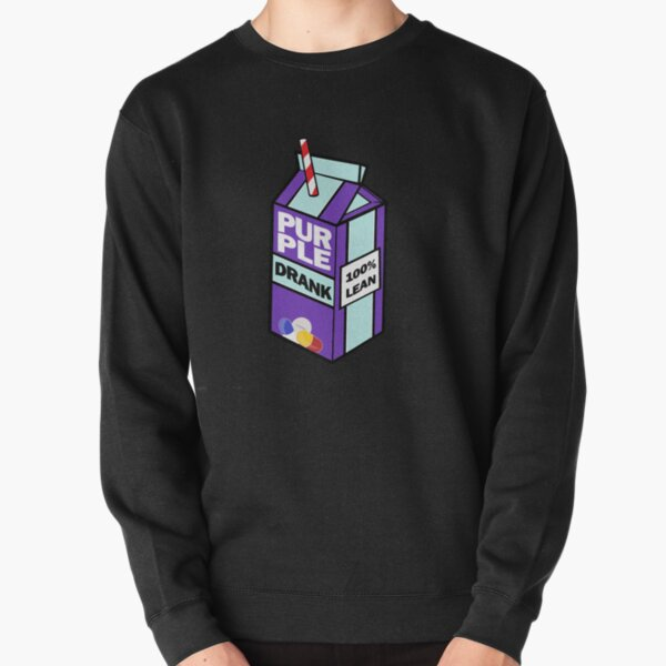 Purple drank bottle / brick Pullover Sweatshirt