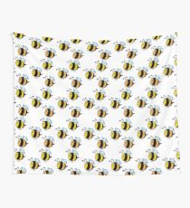 Chubby Bees Wall Tapestry