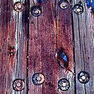 Bolts, Wood, Tar & Rust by Alvin-San Whaley