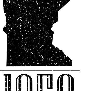 Minnesota 1858 Vintage by MattIsAGamer