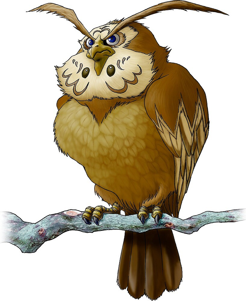 Zelda Owl by AnUnseenGod