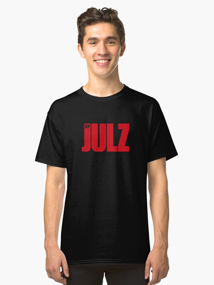 madebyJULZ RED Classic T-Shirt Front