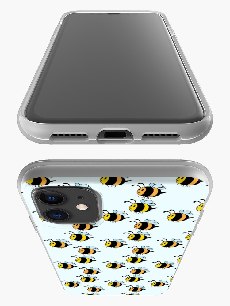 Alternate view of Chubby Bees iPhone Case & Cover