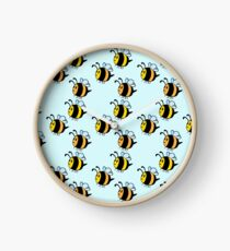 Chubby Bees Clock