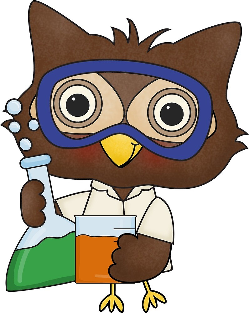Science Owl by AnUnseenGod