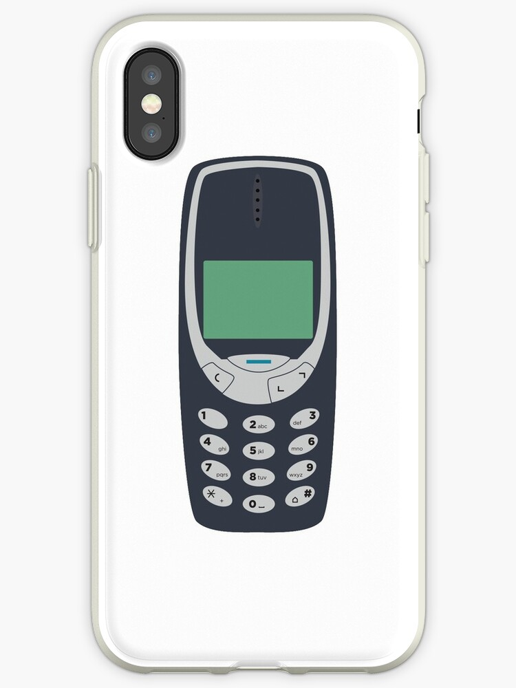 huge discount 95707 76608 'Nokia 3310' iPhone Case by Barber Design