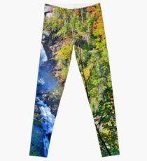 Whitewater Falls North Carolina Leggings