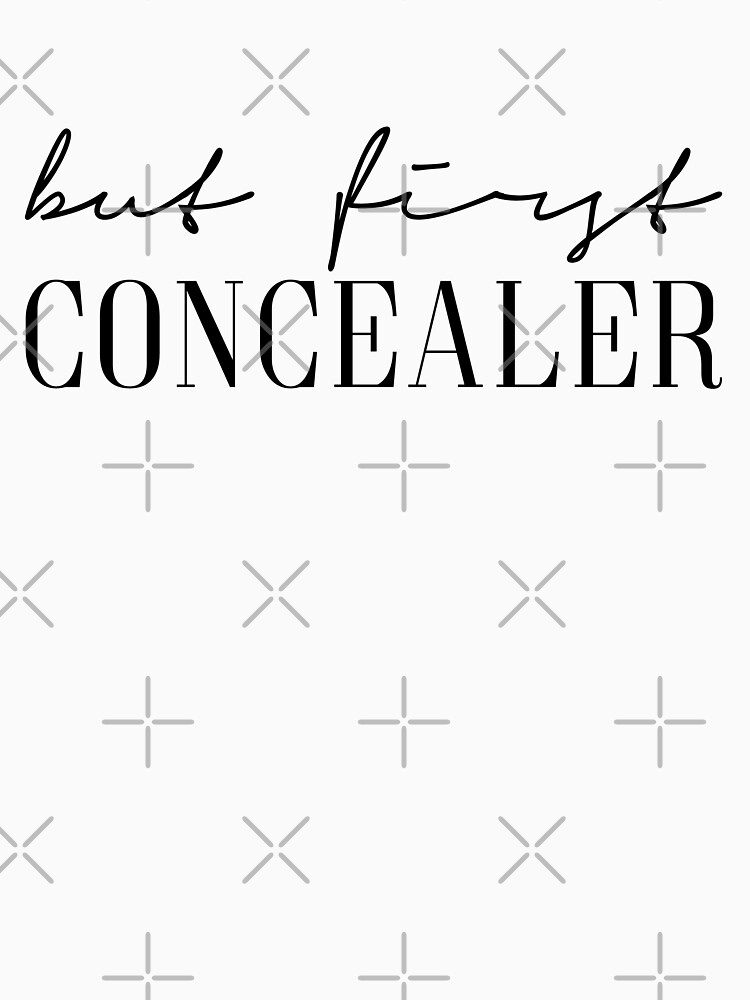 But first concealer by PCollection