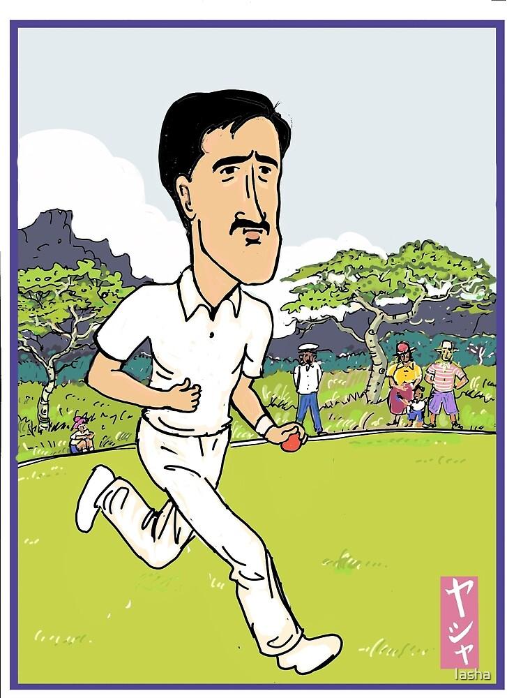 Mitchell Starc Cricket Hero by Iasha