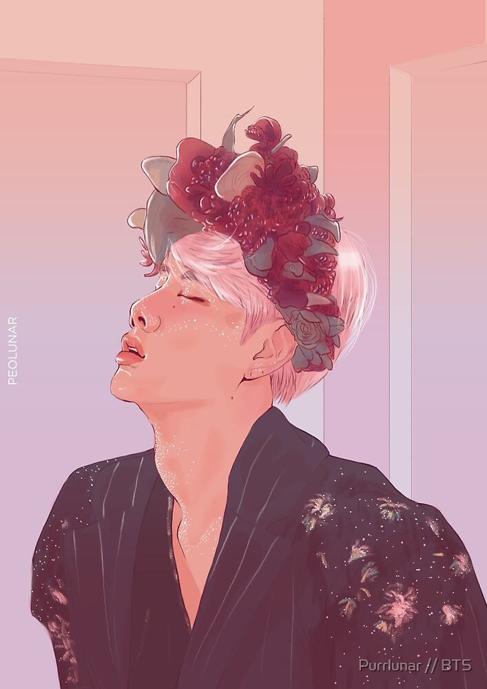 Petals Over There // BTS by Purrlunar // BTS