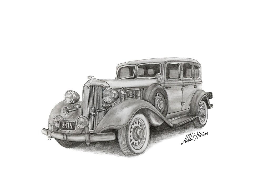 Classic car by Mikkel Hansen