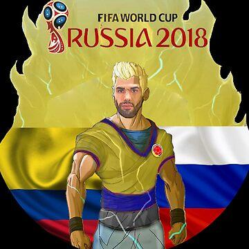 Falcao Russia 2018 by danbrobro