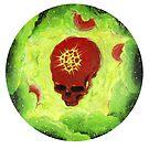 skull planet von darklightillu