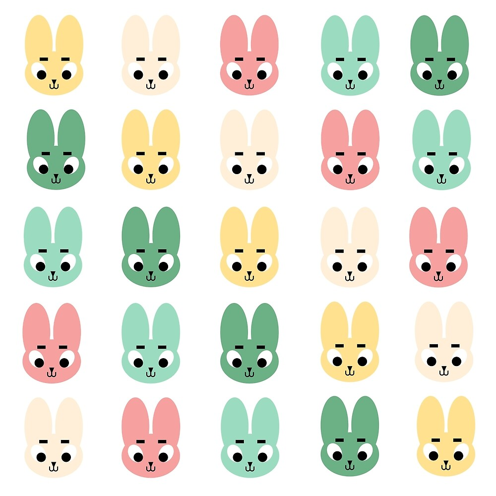 Bunnies by cxiaoshuangg