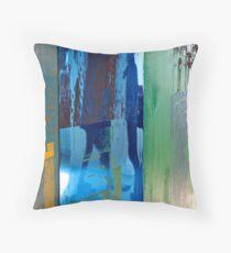 Rauschenberg Reflections (Cuban Mix) Throw Pillow
