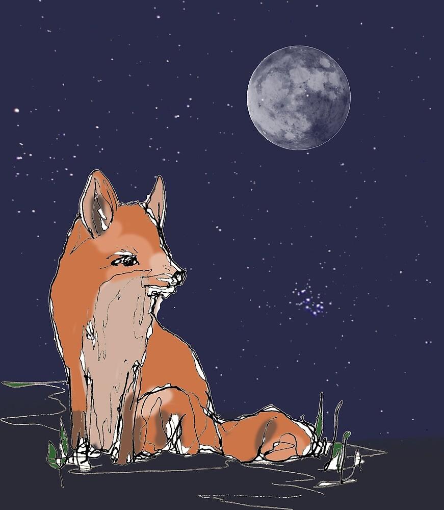 Midnight Fox by alicedesigns297